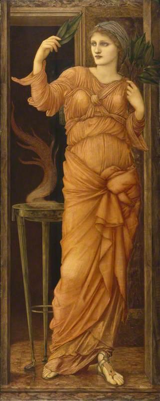 Standing woman, artwork