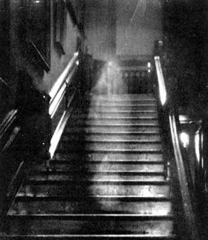 Ghost descending stairs